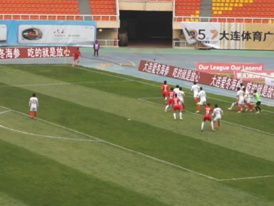 大连博阳1-0湖南湘涛