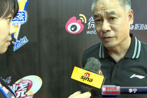 视频-李宁先生助阵CUBA揭幕战 采访中他谈了郭艾伦