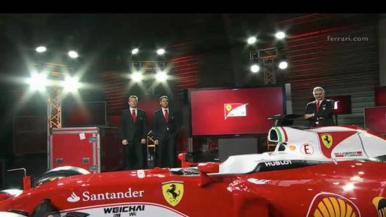 视频-法拉利发布F1新车SF16-H