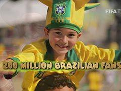 视频-FIFA世界杯倒计150天宣传片:2014相约巴西