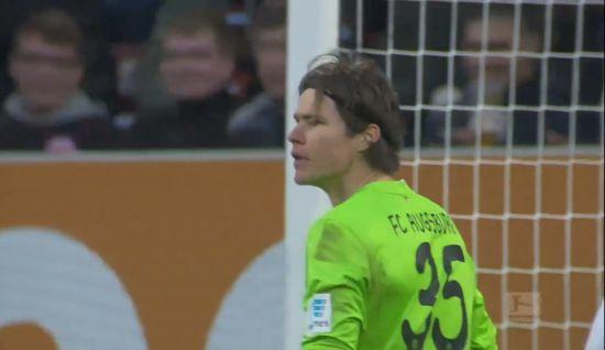 视频-希茨海底捞月 奥格斯堡0-0战平法兰克福