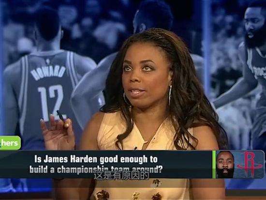 专家:哈登不是超级巨星