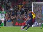 进球视频-上场3分钟破门!梅西任意球直挂死角