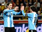视频集锦-梅西空门被解围+遭强吻 阿根廷3-2瑞典
