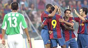 友谊赛-新援堤亚戈单刀球击中立柱国安0-3不敌巴萨