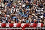 图文-陕西宝荣VS深圳 中国足球与球迷狂热形成反差