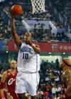 图文-[NBA中国赛]骑士86-90魔术博甘斯(中)上篮