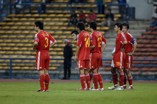 亚洲杯诸强总结之中国:高开低走面对强敌只撑半场
