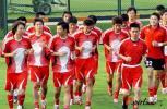 图文-国足香河集训备战亚洲杯团结一心迎接挑战