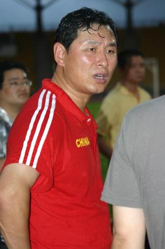 图文-国足香港训练课备战回归杯南头似乎也见了汗