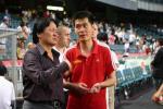 图文-[回归杯]中国联队2-0明星联队朱广沪如此焦急?