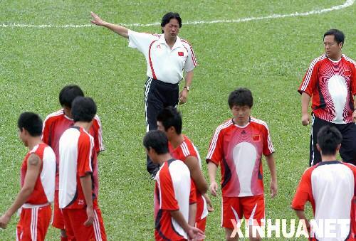 中国队备战亚洲杯厉兵秣马剑指亚洲杯