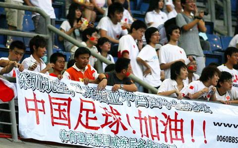 6 球迷永远的支持  我觉得中国的球迷是最可爱的人,也是宽容