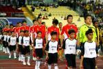 图文-[亚洲杯]中国队VS马来西亚国脚们斗志旺盛