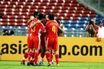 图文-[亚洲杯]中国队VS马来西亚国脚们庆祝进球