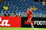 图文-[亚洲杯]中国队VS马来西亚韩鹏奔跑庆祝
