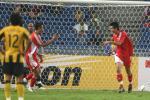 图文-[亚洲杯]中国队VS马来西亚邵佳一破门后庆祝