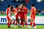 图文-[亚洲杯]中国队VS马来西亚国脚们乐开了花