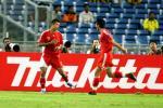 图文-[亚洲杯]中国队VS马来西亚韩鹏佳一共庆