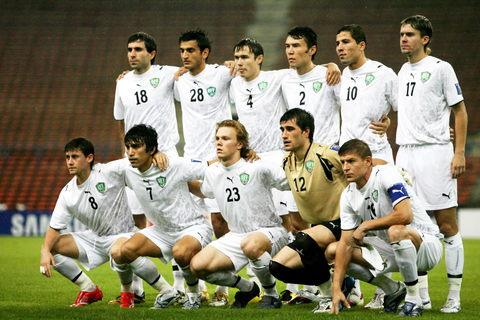 图文-[亚洲杯]国足VS乌兹别克乌国脚气势汹汹