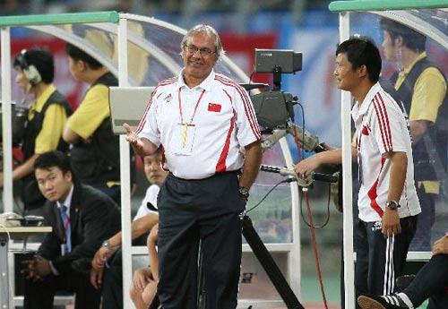 图文-[四国赛]中国国奥2-0博茨瓦纳杜伊比较满意