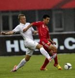 青年足球邀请赛中国VS法国