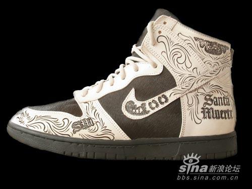 阿兹台克人的手工艺品NikeDunkSantaMuerte