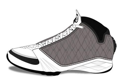 乔丹最后一代战靴抢先看AirJordan23谍照