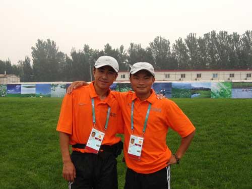 奥运舵手做志愿者工作很辛苦测试赛是专业的课堂