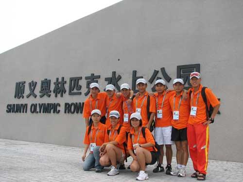 """探访奥运舵手志愿者服务""""好运北京""""抓紧机会学习"""