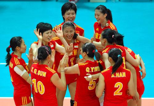 排联:中国女排完胜世锦赛冠军总决赛问鼎存留希望