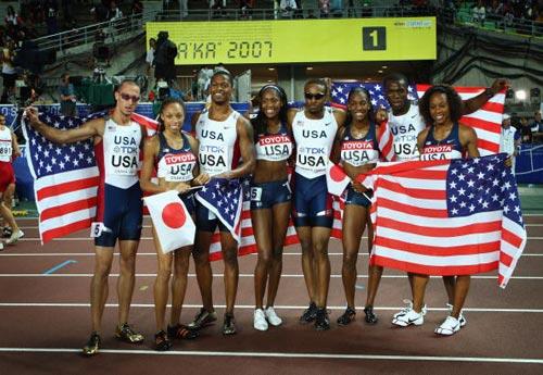田径世锦赛综述:美国十连霸中国战绩成亚洲最佳