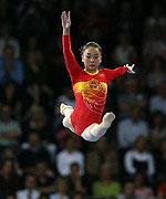 体操世锦赛美国队柳金平衡木夺金李珊珊并列亚军