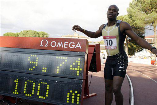 9秒74绝非极限数据兆示鲍威尔仍能再破世界纪录