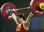 举重世锦赛曹磊夺两金一银俄女将破抓举世界纪录
