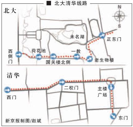 北京奥运会马拉松路线横穿北大清华终点设为鸟巢