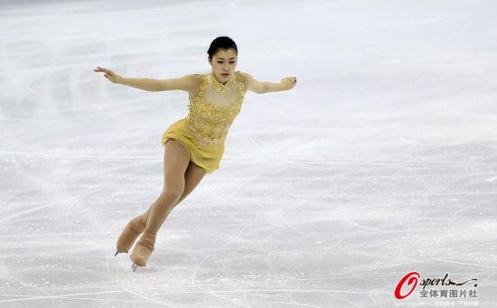 日本花滑美女赛场过20岁生日