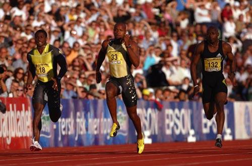 ...晨,在2007年度国际田联黄金联赛首站奥斯陆站的比赛中,牙买加