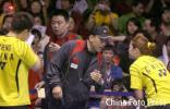 图文-苏杯决赛中国对阵印尼李永波指导混双组合