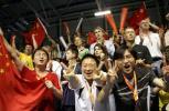 图文-苏迪曼杯决赛中国3-0印尼中国啦啦队声势浩大