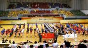 图文-全国职工乒乓球赛在沪开幕盛大的开幕仪式
