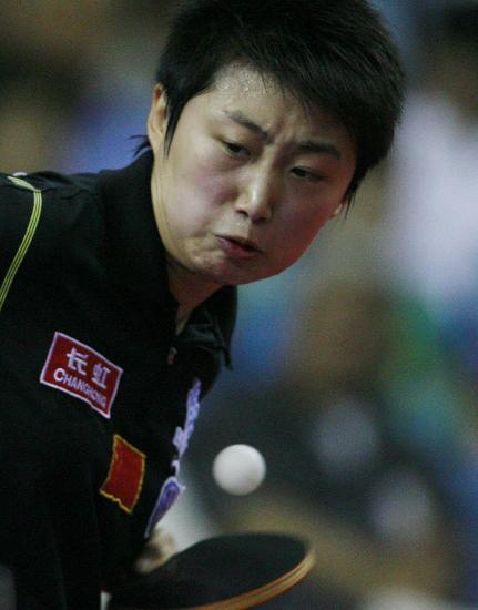 图文-国际乒联日本公开赛赛况郭跃无缘决赛