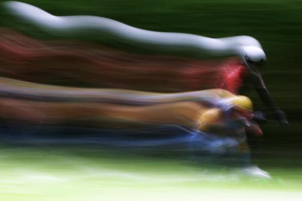 滑板速降世界锦标赛赛况 速度的流线之美
