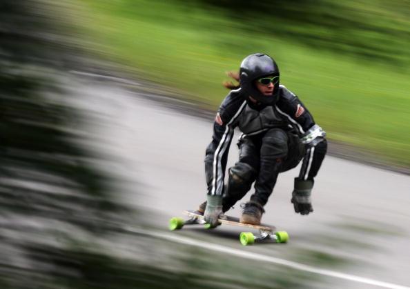 滑板速降世界锦标赛赛况 真是要酷爆了