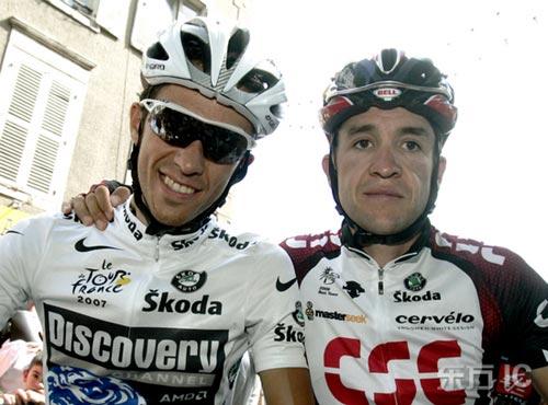 环法自行车赛第15赛段康塔德受前辈青睐