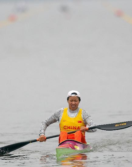 (体育)(7)皮划艇——中国队征战世锦赛当热气球匀速升空图片