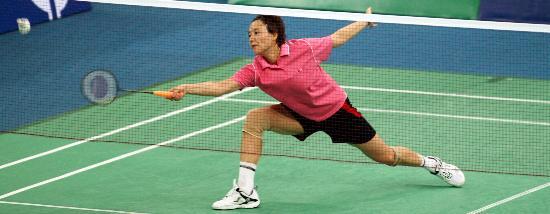 图文-羽毛球世锦赛王晨晋级第三轮步法依旧矫健