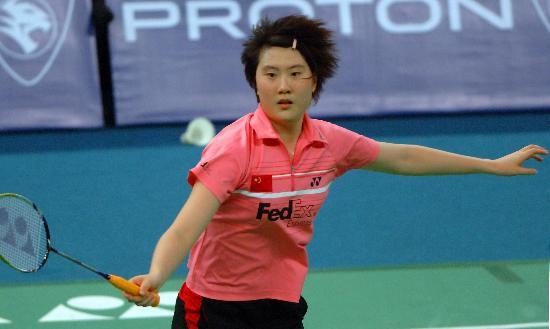 羽毛球世锦赛卢兰晋级八强怀揣雄心壮志
