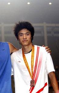 图文-世锦赛中国男子军团一览男子110米栏邢衍安