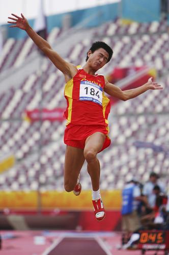 图文-世锦赛中国男子军团一览男子跳远张晓一